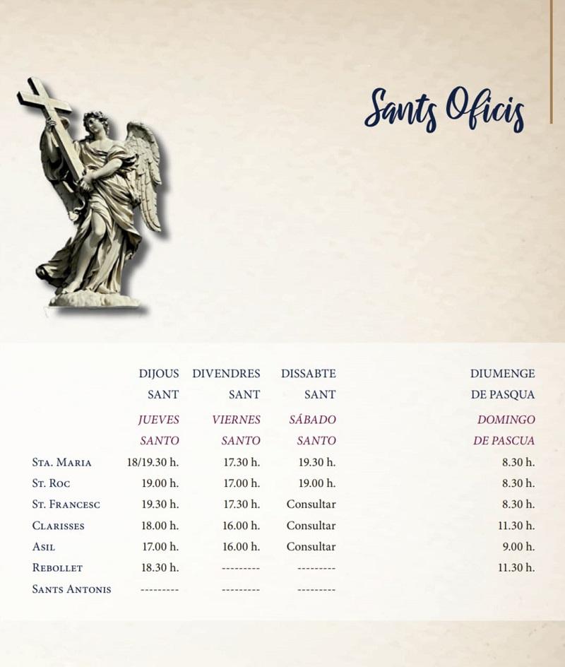 Sants Oficis Oliva 2021