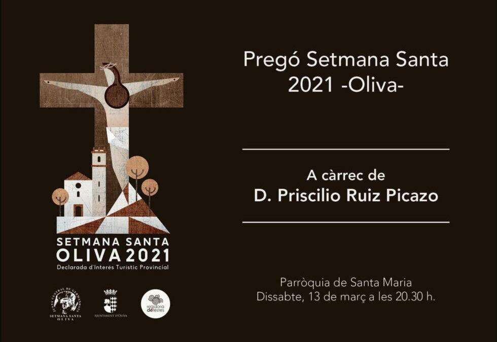 PREGÓ SETMANA SANTA D'OLIVA 2021